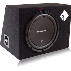 Сабвуфер Rockford Fosgate R1S412 in box