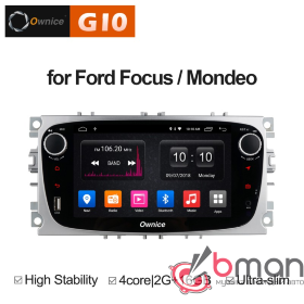 Штатная магнитола Ownice C500 S7282E-S для Ford Mondeo (Android 8.1)